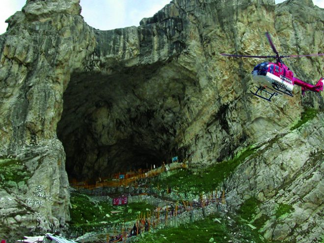 Amarnath Yatra: By Helicopter